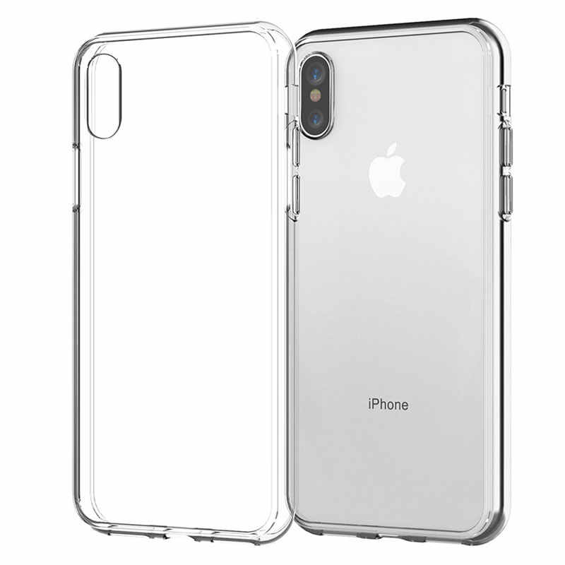 Clear Silicone Case Voor Iphone X Case Iphone Xr Case Soft Tup Back Cover Voor Iphone 7 8 6 6 S Plus 5 5S Se 11 Pro Max Telefoon Cover