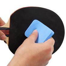 Синяя ракетка для настольного тенниса резиновая губка для ухода за настольным теннисом резиновая губка для очистки