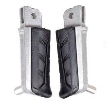 XL 1000 Motorcycle parts Front Foot rest Foot Pegs For Honda XL 1000 V1/V2/ V3/V4 V5 VA4/VA5 VX/VY Varadero XL1000 цена в Москве и Питере