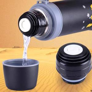 Vacuum Flask Thermos-Cover Travel-Cup Stainless Mug Bullet Durable Outdoor Outlet Lid