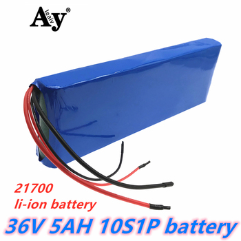 36V lithium ion rechargeable battery 10S1P 5Ah battery pack 250W high power battery 42V 5000mAh Ebike electric bicycle with BMS