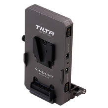 Tilta TA BTP2 V G 15mm LWS Rod Adapter V Mount Battery Plate For powering the BMPCC 4K Camera