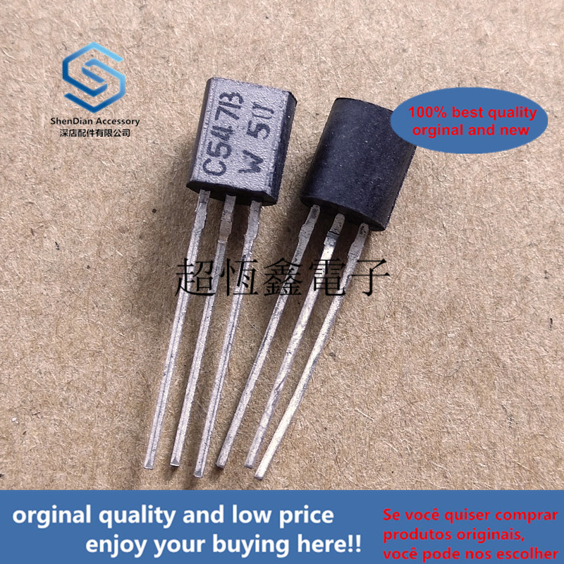 10pcs 100% Orginal New Best Qualtiy BC547B BC547 C547B  Amplifier Transistors