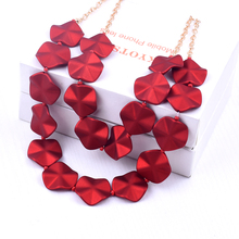 Handmade bead necklace multi-layered bohemian fashion women's necklace statement exaggerated jewelry 2020 new necklace bohemian multilayer necklaces for women handmade bead necklace wooden bead choker statement necklace necklace wood