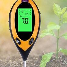 Monitor Temperature-Sunlight-Tester Ph-Meter Soil-Moisture Digital Blacklight Gardening-Plants