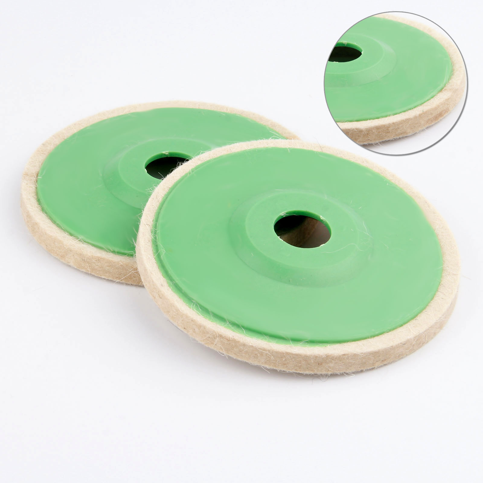 5in 125mm Wool Felt Grinding Wheel Pad Polishing Disc Buffer Polisher Tools For Polishing And Repair