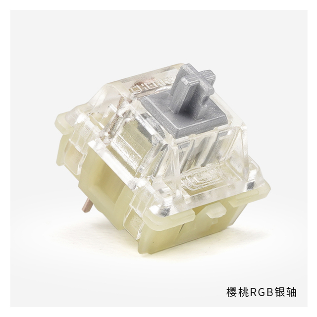 Original Cherry MX Mechanical Keyboard Switch Silver Red Black Blue Brown Axis Shaft Switch 3-pin Cherry Clear RGB Switch