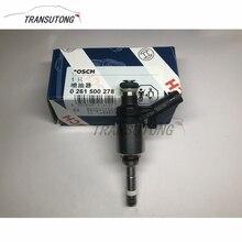 Yeni motor benzinli enjeksiyon valfi yakıt enjektörü 06H906036 06H 906 036 E VW Audi için A4 Skoda Seat 2.0TFSI CCTA, CAEB 0261500162