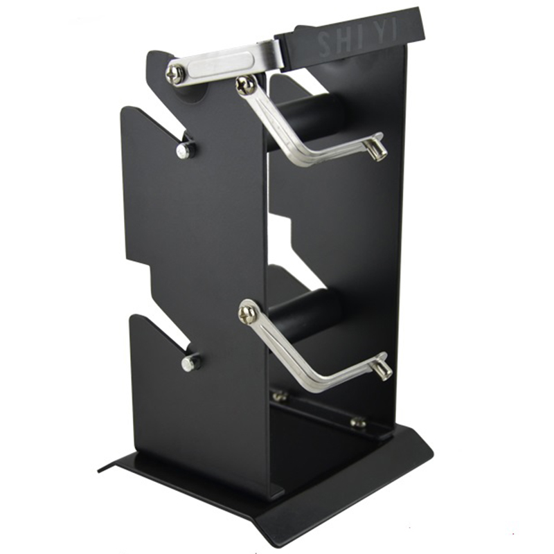 Hot Multifunctional Iron Holder Double-Layer Soldering Iron Stand Double Tin Wire Rack Metal Tin Wire Frame Line Seat