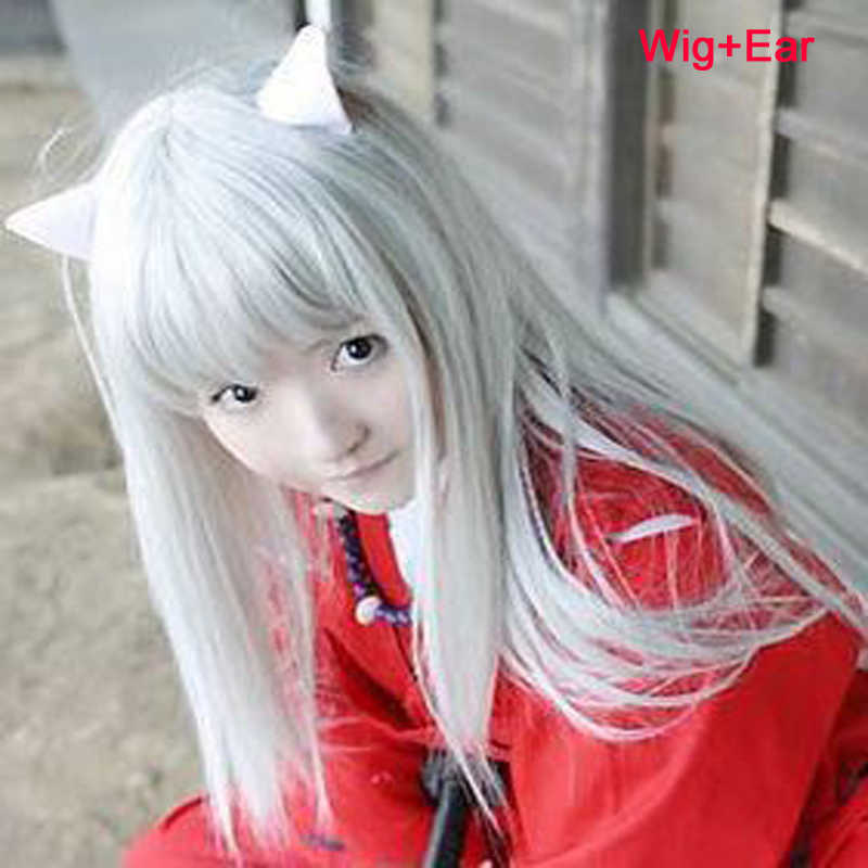 2020 mode Anime Inuyasha Cosplay Kostüm, Helle Rot Kimono Kostüm Cosplay Einheitliche japanischen Kimono Robe Kostüm, Freies Verschiffen