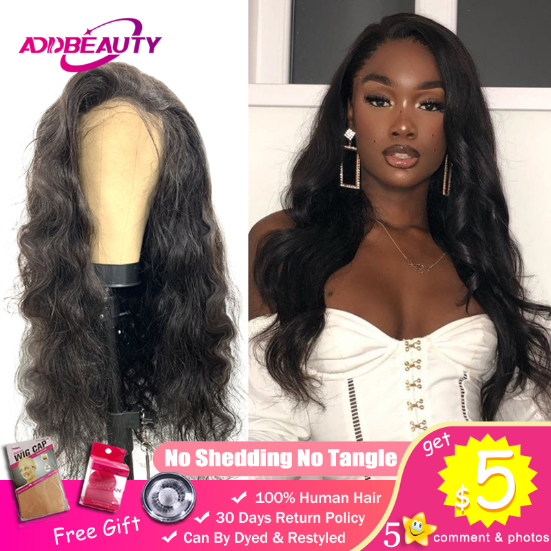 Body Wave Wigs For Black Women DIY Custom Lace Closure Wig 150% Pre Plucked Hairline 100% Peruvian Remy Human With Baby Hair