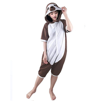 Sloth Unisex Adult One-Piece Pajamas Cosplay Onesies Large Cartoon Adult One-piece Animal Sleepwear Pyjamas Christmas Costume