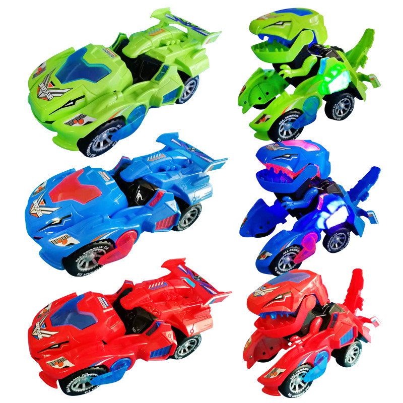 Hot Selling Electric Transformation Dinosaur Dinosaur Transformer Electric Toys Transformation Dinosaur Toy Car Hg-788