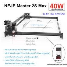 2020 NEJE Master 2S Max 40W CNC professionnel haute puissance Laser découpeuse gravure Machine Lightburn Bluetooth App contrôle