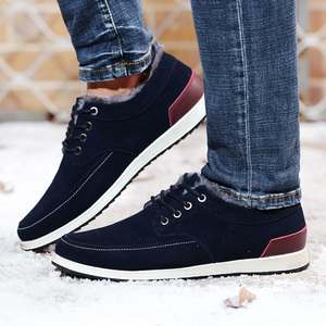 Image 5 - SUROM Mens Leather Casual Shoes Moccasins Men Loafers Luxury Brand Winter New Fashion Sneakers Male Boat Shoes Suede Krasovki