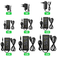 DC12V LED Power Adapter 3A-20A Lighting Transformers AC100-240V To DC Switching Power Supply For LED Strip Light CCTV