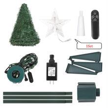 2020 горячая Распродажа 12 м ПВХ складная Рождественская елка
