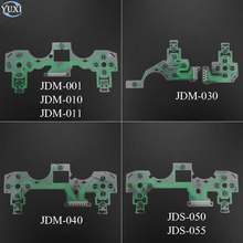 YuXi Replacement For Sony Playstation 4 PS4 / Pro JDM 050 040 030 001 Controller Conductive Film PCB Circuit Keypad flex Cable(China)