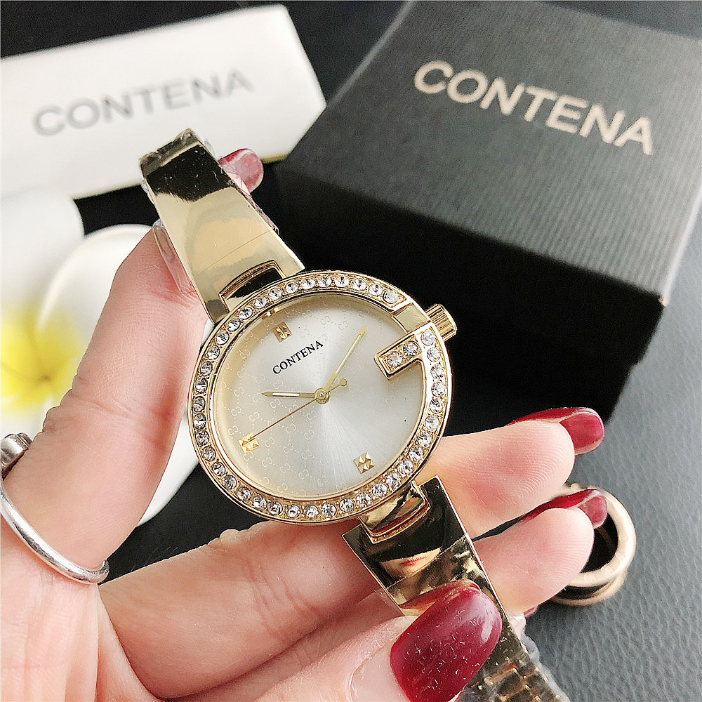 7163GZM     Foreign Trade Ladies Exquisite Simple Alloy Quartz Watch