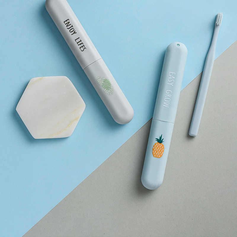 Leuke Reizen Accessoires Portable Tandenborstel Cover Plastic Outdoor Wandelen Camping Tandenborstel Cap Case Dropshipping