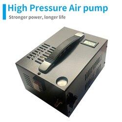ل PCP مسدس هواء قابل للنفخ سيارة ضاغط 4500psi 300bar 30mpa 12 فولت 12 فولت مصغّر ضاغط بما في ذلك 220 فولت محول
