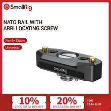 Smallrig Quick Release Nato Rail Met Arri Lokaliseren Schroef 48Mm Voor Arri Accessoire Mounts   2521