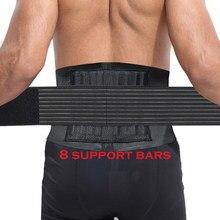 Ceinture de soutien lombaire pour les douleurs de la taille et du dos, 1 pièce, pour Fitness, haltérophilie, correcteur de sécurité, entraîneur de taille