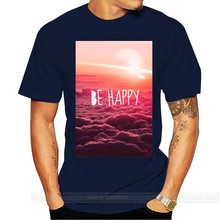 Be Happy Tumblr Instagram Blogger T-shirt Vest Men Women Unisex 1211 Cheap wholesale tees,100% Cotton For Man(China)