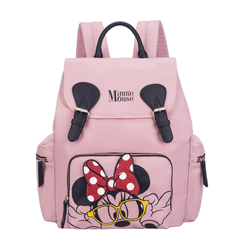 Disney Diaper Bag Backpack Large capacity Mummy Maternity Nappy Bag Nursing Bag Baby Care Travel Backpack Disney Backpack