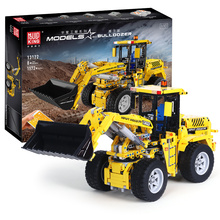 MOC Technic Series The Logging Truck Compatible with Lepining 9397 Set Car Model Kit Building Blocks Bricks Kids Toys DIY Gifts lepin 02102 city series the mining experts site set with dump truck 60188 building blocks bricks funny toys model kids gifts