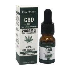 ECO-finest CBD Oil 20% - 3000mg Aid Organic Hemp Extract Bio-active Drop Pain Relief Reduce Sleep Anxiety Stress