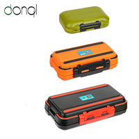 DONQL Waterproof Fishing Tackle Box Hooks Storage Boxes Carp Fly Fishing Accessories 12 30 Compartments Double Side Bait Box|Fishing Tackle Boxes| |  -