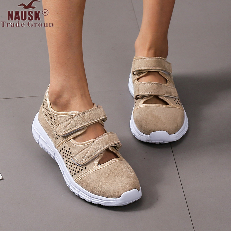 Women Shoes Breathable Mesh Hollow Female Network Soft Lightweight Casual Shoes Dames Sneakers Damesschoenen Zapatillas Soft