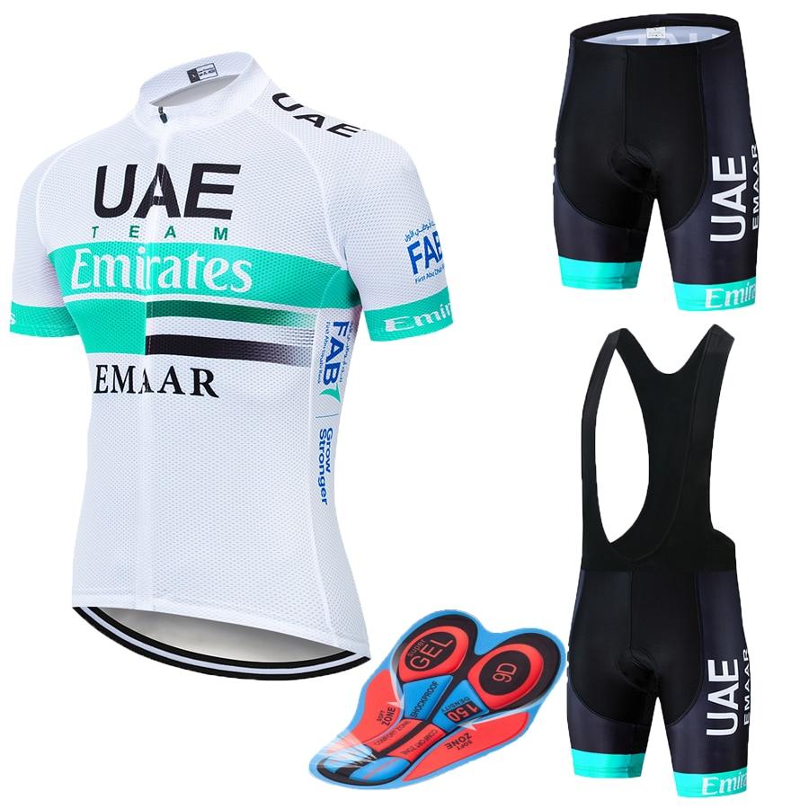 UAE2018 NORTHWAVE Sommer herren Jersey Kurzarm Atmungs Set Bib Kurze Kurze-trocknen Fahrrad Kleidung Maillot