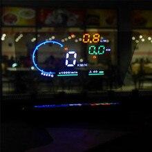 цена на PET protective film Car HUD Reflective Film Head Up Display System Film OBD II Fuel Consumption Overspeed Display
