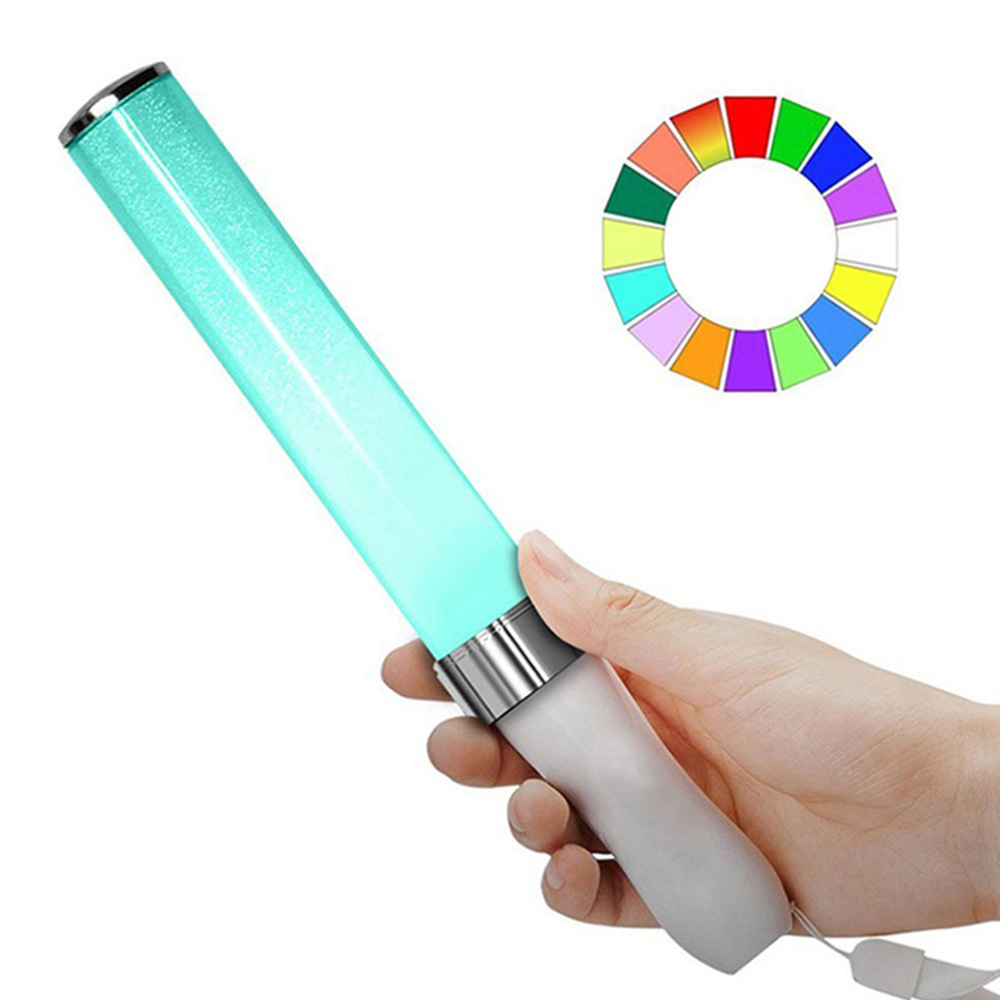 Vocal Concerts Glow Sticks LED 15 Colors Change Light Stick Party Wedding Magic Camping Chemical Fluorescent Hot