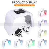 Muli mode 7 Colors Rejuvenate Wrinkle& Skin Tightening LED Facial Light Therapy Face Care Beauty Machine for with CE Approval