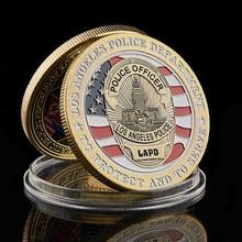 Reparto di Polizia di Los Angeles LAPD Ufficiale Saint Michael Patronale Di Forze dell'ordine Moneta Commemorativa