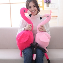 2019 Swan Pillows Plush Toys Cute Flamingo Doll Stuffed Animals Soft Toy for Children Girlfriend Birthday Gift Kids Plush Toys flamingo stuffed plush toy flamingo bird stuffed soft doll kids toy birthday gift for children kids girls