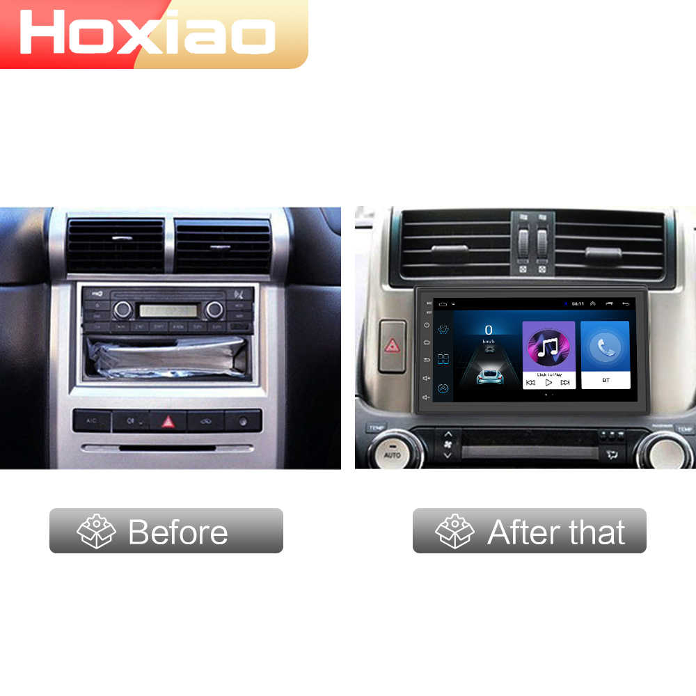 2din Android 8.1 Car Multimedia Player GPS WIFI DAB FM Bluetooth 7 Inch USB Tidak Ada DVD 2 DIN Autoradio Mobil radio Navigasi