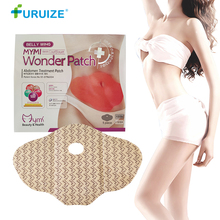 Belly Weight Loss stickers MYMI WONDER PATCH Abdomen Treatment Slimming patch Navel Fat Burning Patch Slim