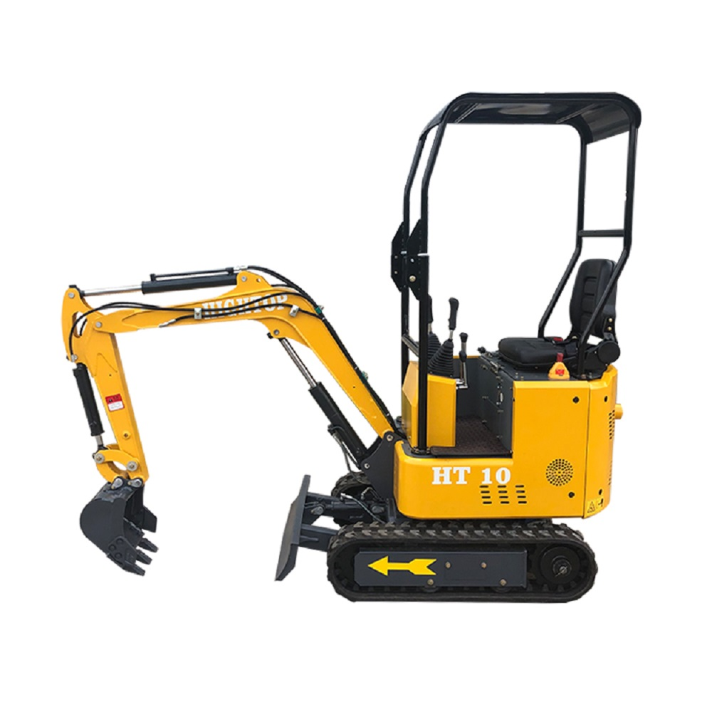 Fast Delivery Low Price HT10 Micro Bagger Mini Excavator HIGHTOP