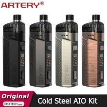 AIO-cigarrillo electrónico original Artery, vaporizador de acero frío, Cartucho Pod de 4ML, 120W, versión XP y RBA