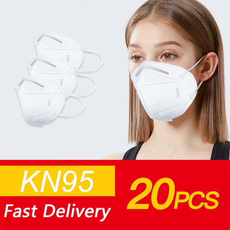 Dustproof Face Mouth Masks N95 Anti PM2.5 Anti Influenza Breathing Safety Respirator Mask Face FFP3 N95 MASK Fast Shipping DHL