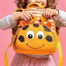 Litthing 3D Cartoon Animal Bag for Girls Boys New Cute Kids Toddler School Bags Backpack Children Kindergarten Schoolbag недорого