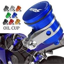 FOR YAMAHA YZFR6 YZF R6 YZF R6 2005 2006 2007 2008 2015 Universal Motorcycle Brake Fluid Reservoir Clutch Tank Oil Fluid Cup