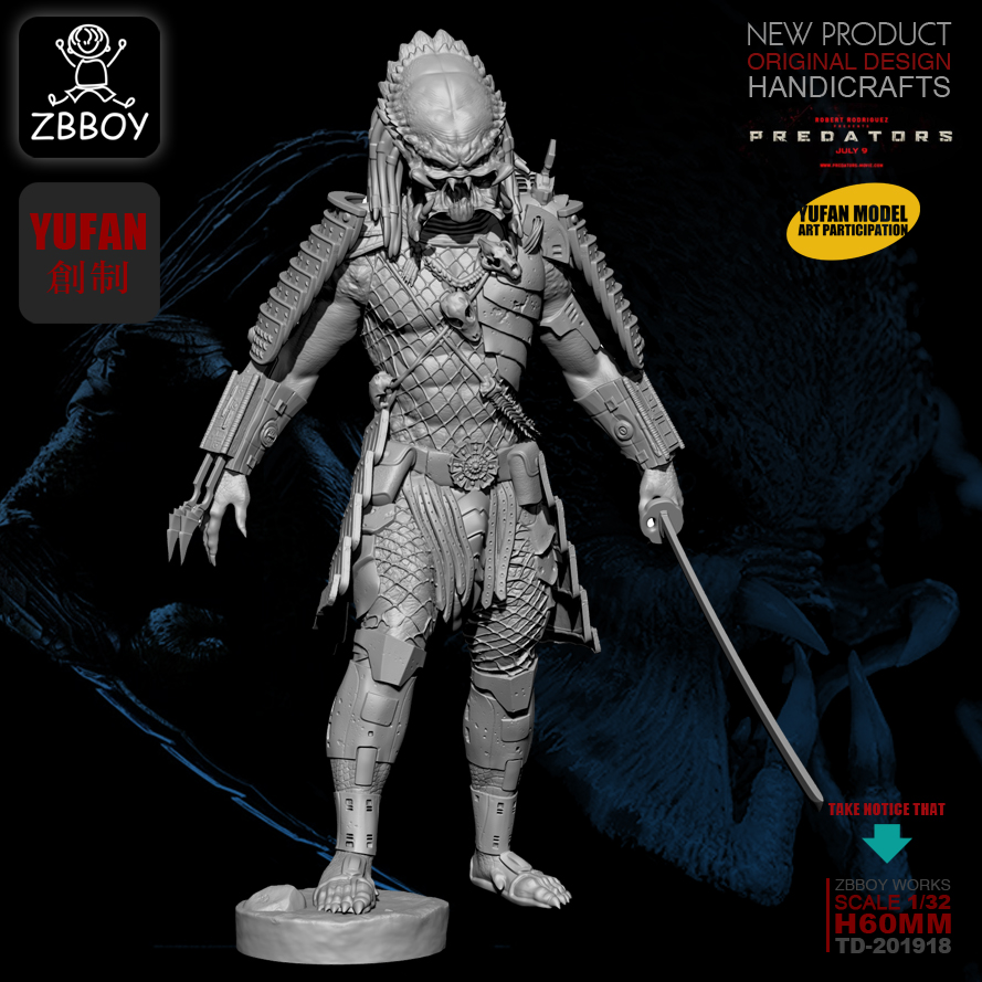 1/32 Resin Figure Kits Resin Model  Self-assembled TD-201918