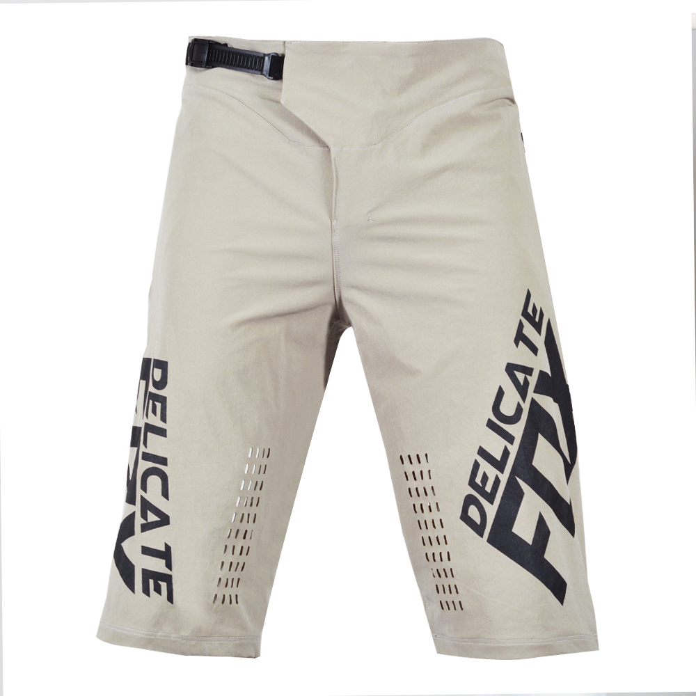 Delicate Fox Defend Shorts Mens Racing Street Moto Mountain Bicycle Offroad Summer Short Pants