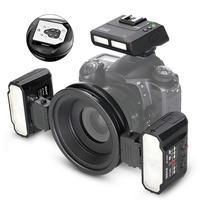 MEKE Meike MK MT24 Macro Twin Lite Speedlight Flash for Canon DSLR Camera 70D 60D 760D 750D 550D 450D 1200D 5D 6D EOS M3+GIFT