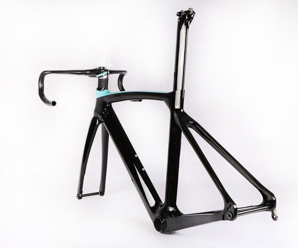 2020 карбоновая рама для шоссейного велосипеда Aero, рама для шоссейного велосипеда, вилка, подседельный штырь, обод, тормозной диск, UD, тканевый...